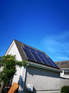 Solar panels we recently installed